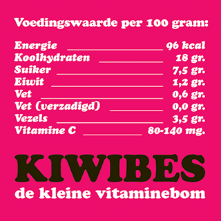 kiwibes_voedingswaarde